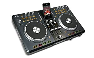 NUMARK INDUSTRIES DJ w/your computer, your iPod, or both! Works w/Mac or PC DJ