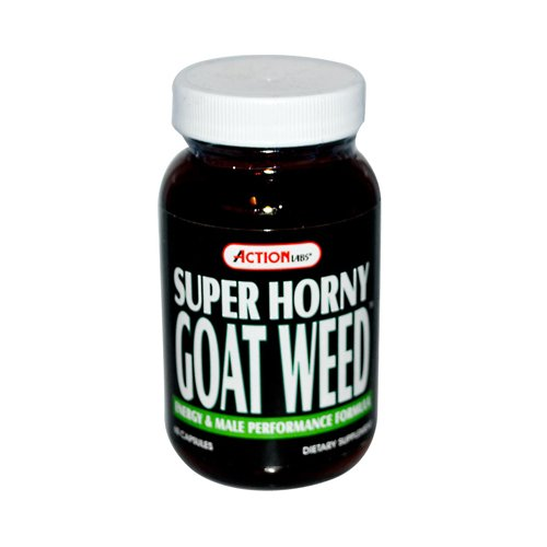 Action Labs - Super Horny Goat Weed, 60 Capsules
