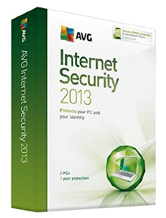 AVG Internet Security 2013: 2 User - 1 year License (PC)