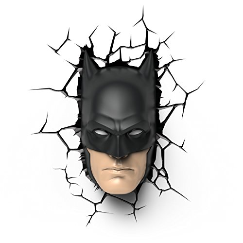 DC Comics Batman Mask 3D Luce Notturna