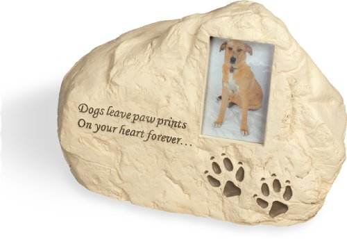 Dog Paws PolyStone Cremation Urn - Dogs Leave