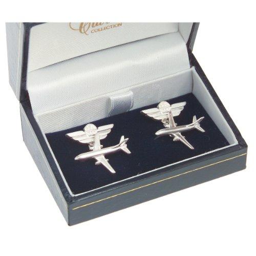 clivedon-sterling-silver-cufflinks-boeing-737