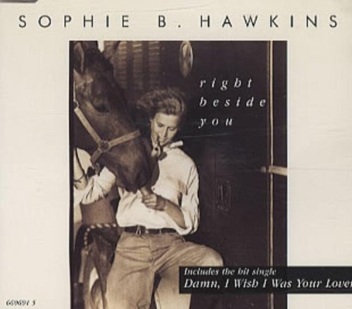 RIGHT BESIDE YOU CD UK ISSUE PRESSED IN AUSTRIA COLUMBIA 1994