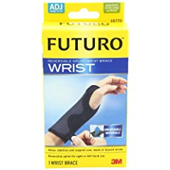 Futuro Adjustable, Reversible, Moderate Stabilizing Support, Splint Wrist Brace by Futuro