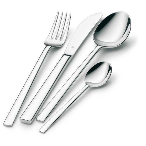 WMF 24 pce Sonic, Cromargan 18/10 stainless steel cutlery set
