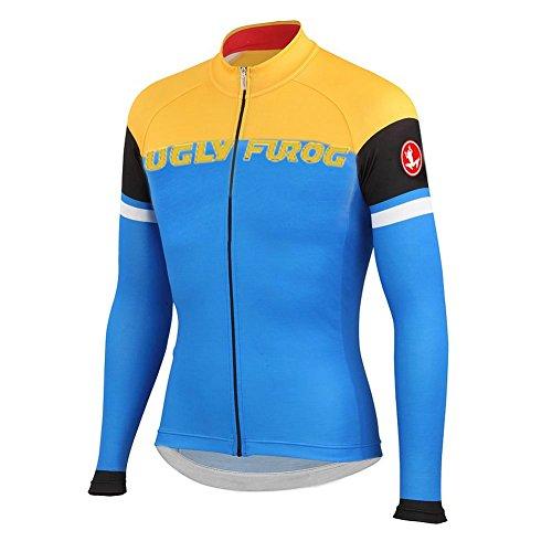 Uglyfrog LS20 2015 Nuovo Panno Morbido Di Inverno Sport Esterni Termico Traspirante Uomo Manica Lunga Ciclismo Magliette Bicicletta Triathlon Abbigliamento