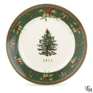 #!Cheap Spode Christmas Tree Annual 2011 Collector's Plate, 8-Inch