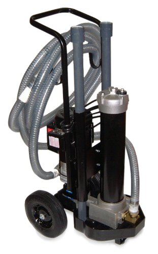 Schroeder Mfs118Z10B07 Hydraulic Single Filter Cart, Micro-Glass Filter Cartridge, Removes Rust, Metallic Debris, Fibers, Dirt; 7 Gpm, 10 Micron front-831275