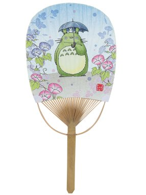 And fans of Totoro Japanese oval bamboo fan babe! * Made in Japan * mother's day, she presents how do you * there for seasonal goods when sold out contact us let us cancel