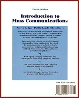 Introduction to Mass Media/Television