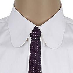His Honour Men's Purple Purple Neck Tie