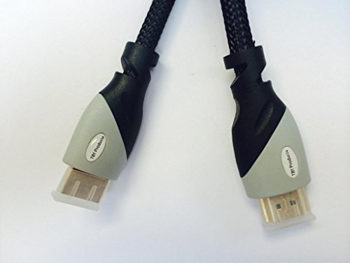 TB1 Products Real Quality HIGH SPEED GOLD HDMI 1080P HD NELYON MESH CABLE CORD (3meter = 9ft) FOR BLURAY 3D DVD HDTV PS3 XBOX LCD TV