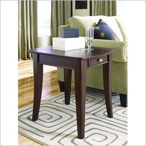 Cheap Hammary Enclave Rectangular End Table (T2079221-00)