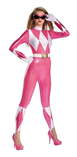 Costumes for all Occasions DG55626B Pink Ranger Sassy Bodysuit 8-1
