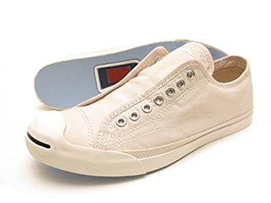 Converse Jack Purcell LP Slip Sandshell 129490C Unisex Men and Women (SIZE: 7.5)