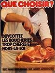 QUE CHOISIR [No 149] du 01/03/1980 -...