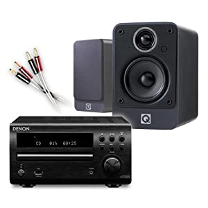 Review and Buying Guide of Buying Guide of Creative Audio CA-MS5i-BG Micro Stereo System (Denon DM39DAB Black + Q Acoustics 2010i Graphite + £55 QED cable bundle). 2 Year Guarantee + Free next working day delivery (most mainland UK addresses)!