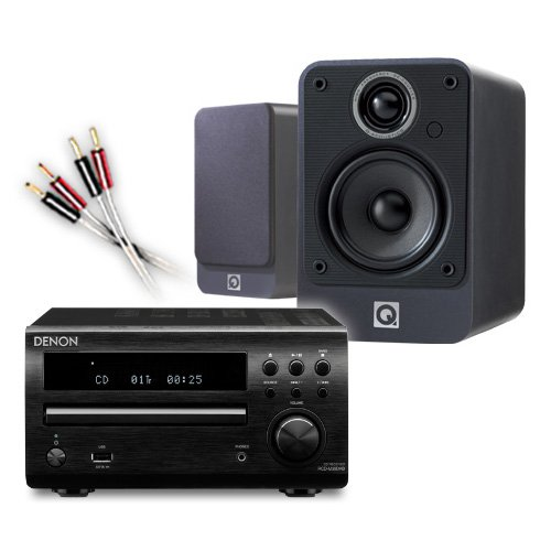 Creative Audio CA-MS5i-BG Micro Stereo System (Denon DM39DAB Black + Q Acoustics 2010i Graphite + 55 QED cable... Black Friday & Cyber Monday 2014