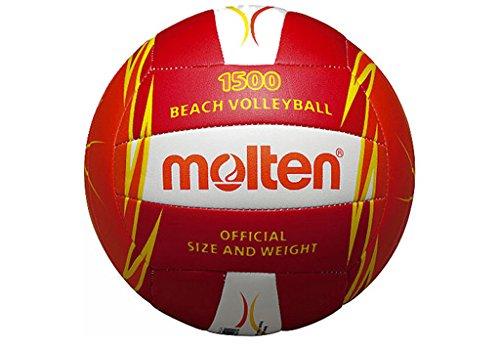 Molten V5B1500 - Volleyball Ball, rot, Größe 5
