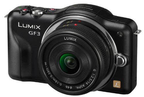 Panasonic Lumix DMC-GF3CK Kit 12.1 MP Digital Camera with 14mm Pancake Lens