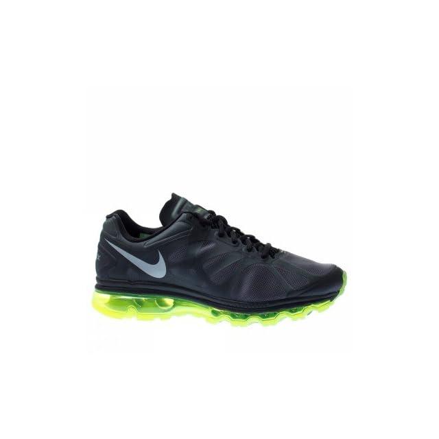 separation shoes f3701 197de Nike Air Max 2012 Black Volt Mens Running Shoes 360 487982 017