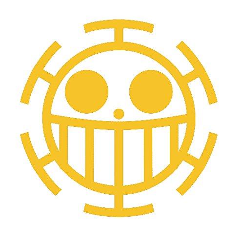 アイロンで簡単貼り付け♪ アイロンプリントシート ONE PICEC トラファルガー・ロー 黄色-20cm