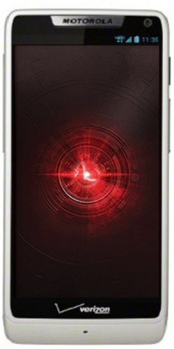 Motorola DROID RAZR M 4G Android Phone, White 8GB (Verizon Wireless)
