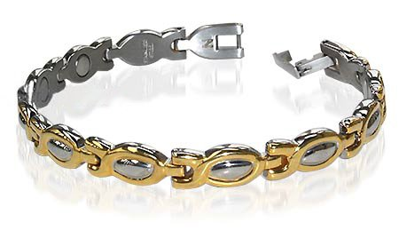 New Stainless Steel Magnetic Health Link Bracelet