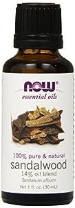 Now Foods Sandalwood Oil 14% Blend 1 oz