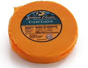 Longhorn Colby Cheese Round by Wisconsin Cheese Mart