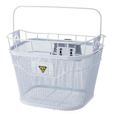 Topeak Front Bicycle Handlebar Basket - TB2001 (White)