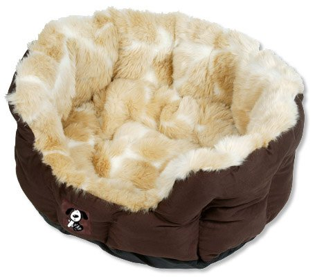 Yap Peluchi Giraffe Oval Pet Bed, 22 inch