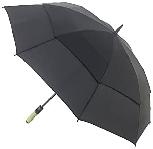 Fulton Titan Umbrella Black & Lime