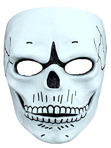 Spring fever Masquerade Party New Design Halloween Cosplay Mask Skull One Size (Grease Female Characters)