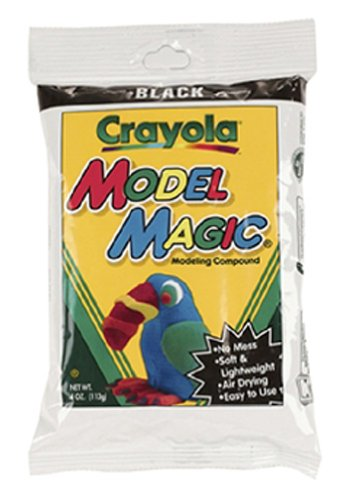16 Pack CRAYOLA LLC FORMERLY BINNEY & SMITH MODEL MAGIC 4OZ BLACK