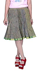 Beautiful Cotton Printed Multicolour Skirt From the house of Pezzava