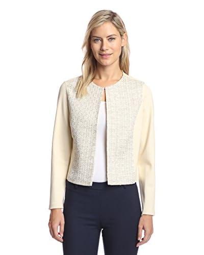 J. McLaughlin Women's Tweed Detail Jacket