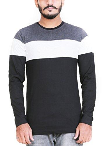 Zsolt-Full-sleeve-Tri-color-round-neck-Mens-T-shirt