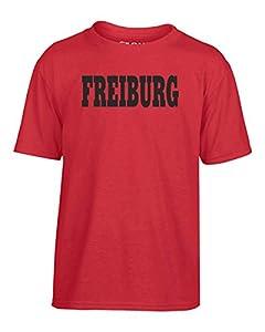 T-Shirtshock - T-shirt Kinder WC0806 FREIBURG GERMANY CITY