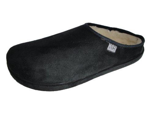 Image of Andres Machado Women's BLACK Scandinavians Slippers Big Size Shoes (B0049HLFJA)