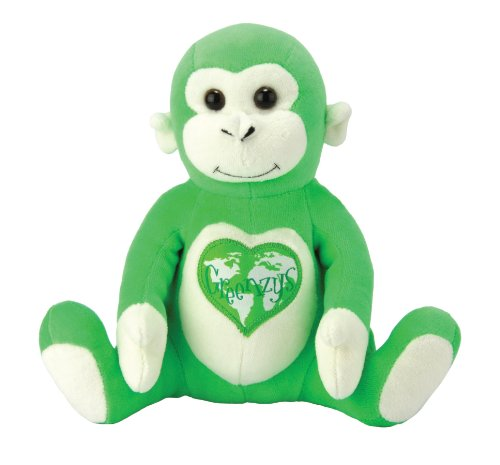 The Greenzys: Mango The Gorilla By Kids Preferred front-812234