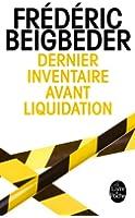 Dernier inventaire avant liquidation