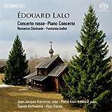 echange, troc  - Concerto russe pour violon et orchestre, Concerto pour piano