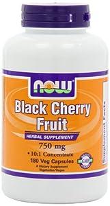 海淘防痛风保健品:Now Foods Cherry Fruit 黑莓精华胶囊