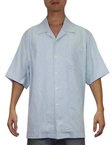 Tommy bahama grapefruit league mens short sleeve silk camp for Tommy bahama short sleeve silk camp shirt
