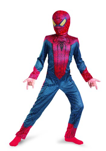 The Amazing Spider-man Movie Classic Costume, Red/Blue, Medium