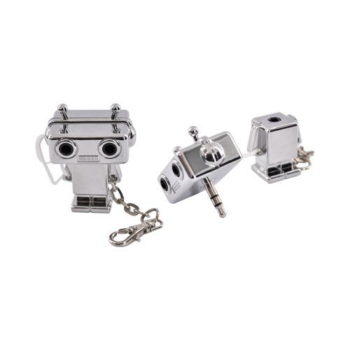 Silver Robot (3.5Mm) Original Dci Universal Audio Headset Splitter