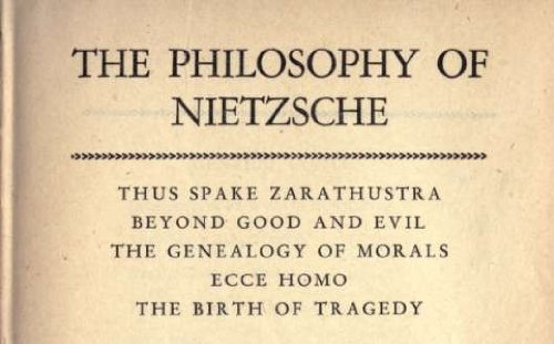 an analysis of the moral philosophy of friedrich nietzsche