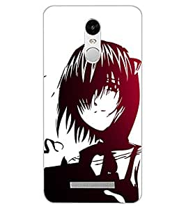 ColourCraft Lovely Drawing Design Back Case Cover for XIAOMI REDMI NOTE 3 PRO