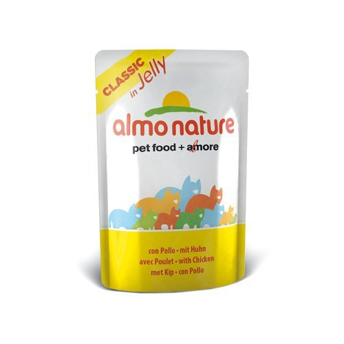 Pâtée Almo Nature Classic en gelée pour chat Poulet